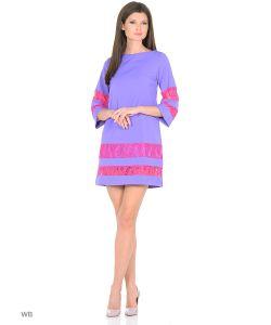 RIJJINI | Платье Твигги Для Вечеринки Со Вставкой Из Кружева