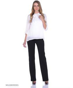 RIJJINI   Модная Офисная Блузка С Бантом