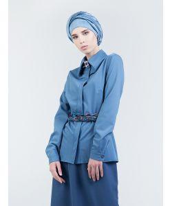 Bella Kareema | Блуза Классическая С Фигурным Воротником