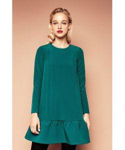 C.H.I.C. | Платье С Воланом Зеленое