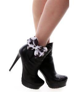 SEANNA | Украшение Клипсы На Обувь Шелковые Банты Снежный Барс
