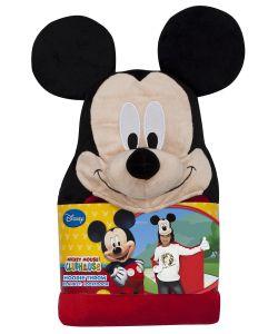 Disney | Плед С Капюшоном Mickey Mouse Микки Маус Размер 100Х100 См