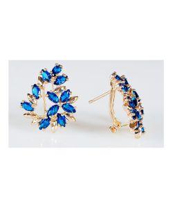 Lotus Jewelry | Серьги Шпинель Камелия