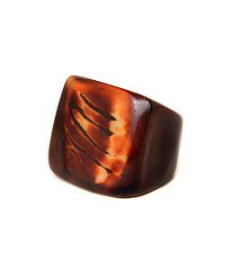 Indira | Перуанское Кольцо Из Пальмы Тагуа