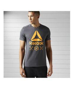 Reebok | Футболка Муж. Speedwick Delta Tee Dgreyh