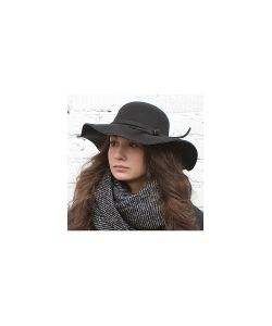 Kawaii Factory | Шляпа С Широкими Полями Черная