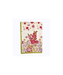 Mas d'Ousvan | Полотенце Flowery Цветы 5080См 100 Хлопок