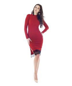 FREESPIRIT | Платье Миди С Кружевом Jolie