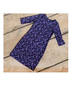 FRIO | Платье Кружево Фиолетовое
