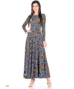ANASTASIA PETROVA | Длинное Платье Электрик