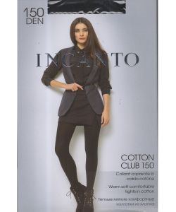 Incanto | Колготки Cotton Club 150 Grigio Melange