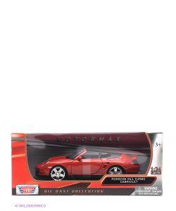 Motormax | Машинка Коллекционная Porsche 911 Turbo Cabriolet В Масштабе 1К24