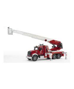 Bruder | Пожарная Машина Mack С Выдвижной Лестницей И Помпой С Модулем Со