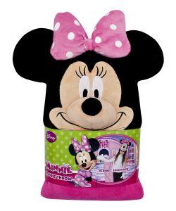 Disney | Плед С Капюшоном Minnie Mouse Минни Маус Размер 100Х100 См