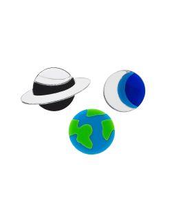 НечегоНадеть | Комплект Planet Earth Planet Saturnhalf Moon