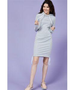 MilkyMama | Платье Для Кормления Sporty Ma Серое Миди