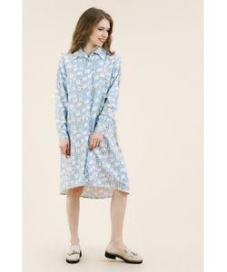 Monoroom | Платье-Рубашка Белые Медведи Kw4 One-Size 42-46