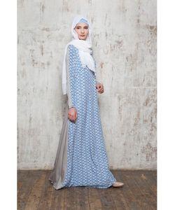 Bella Kareema | Платье Летнее Из Штапеля Двухцветное