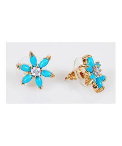 Lotus Jewelry | Серьги С Бирюзой