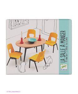 DJECO | Мебель Для Кукольного Дома Столовая