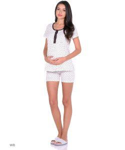 40 недель | Комплект Домашней Одежды Блузка Шорты