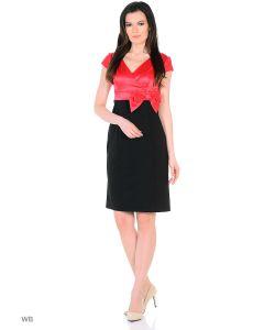MeiLLer | Платье С Короткими Рукавами.
