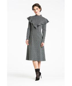 YULIA'SWAY   Платье Elegant Frill Трапеция