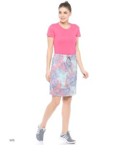 Adidas   Юбка Pastel Camo Skirt