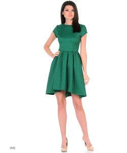 MeiLLer | Платье С Короткими Рукавами