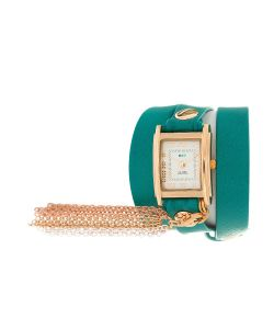 La Mer Collections | Часы Charm Rainbow Tassle Dark Aqua