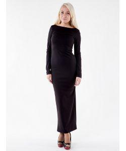 GLAM GODDESS | Платье Молния Черное