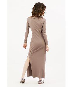 Monoroom | Платье С Разрезами Фундук Kw4 One-Size 42-46