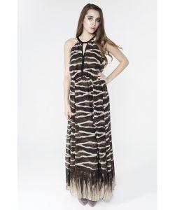 Monoroom | Платье Show Room С Кружевом Снизу Tiger