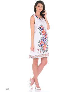 ГАНГ | Платье Ручная Роспись
