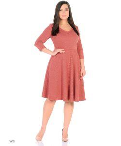 ANASTASIA PETROVA | Платье Терракотовый Меланж