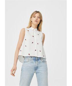 Mango | Рубашка Cactus2