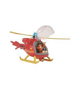 Simba | Пожарный Сэм Вертолет Со Светом Звуком Акс. Фигурка 24 См.