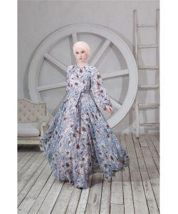 Bella Kareema | Платье Шифоновое С Поясом