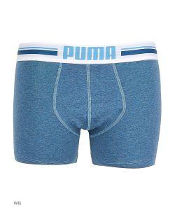 Puma | Трусы Placed Logo Boxer 2p