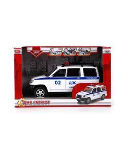Технопарк | Машина Инерционная Уаз Патриот Полиция Свет И Звук