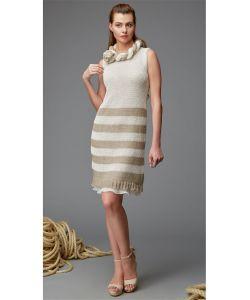 Milliner | Платье Из Вязаного Льна