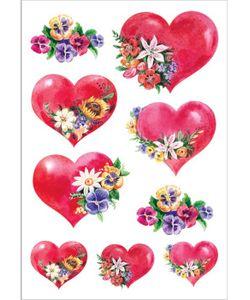 DECORETTO | Виниловые Наклейки Цветущее Сердце
