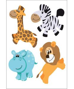 DECORETTO | Виниловые Наклейки Зоопарк