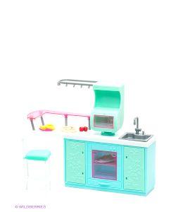 1Toy | Набор Мебели Для Кукол Кухня Красотка