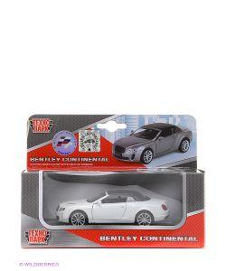 Технопарк | Машина Металлическая Инерционная Bentley Continental