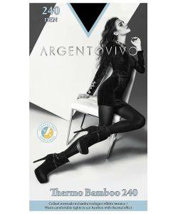 Argentovivo | Колготки Thermo Bamboo 240