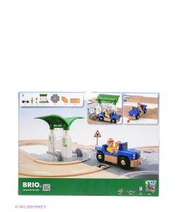 Brio | Игровой Набор С Автодорогой Перекрестком Заправкой 33747