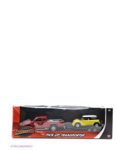HTI | Машинки С Прицепом В Масштабах 1К43 И 1К32 Красная И Желтая