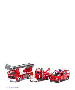 WELLY | Набор Машин Пожарная Служба