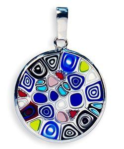 Bottega Murano | Подвеска Миллефиори 18Мм Цвет M01a